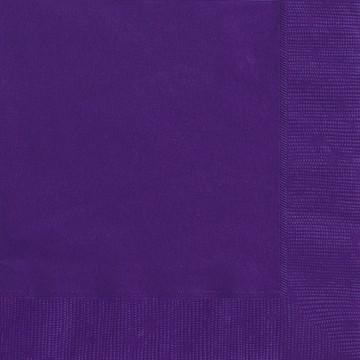 Deep Purple Luncheon Napkins 20 CT.