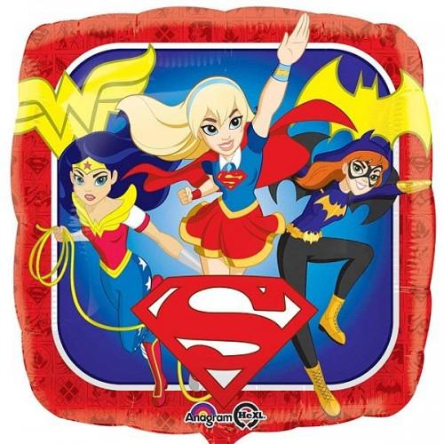 """Super Hero Girls Group 18"""" Foil Balloon"""