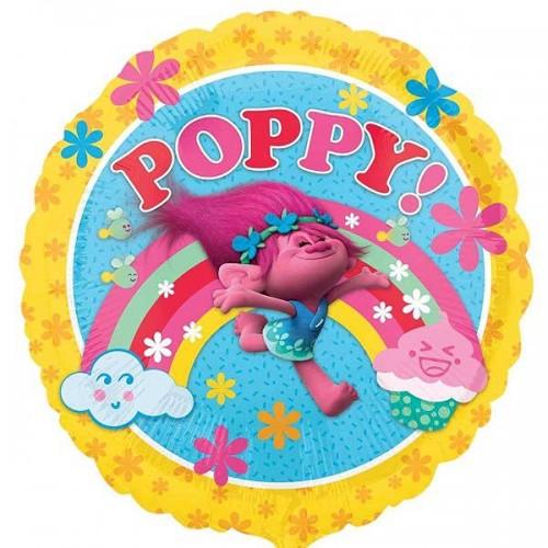 """Trolls Poppy - 18"""" Foil Balloon"""