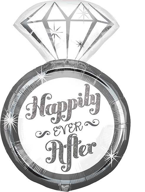 """Happily Ever After Ring - SuperShape  - 18""""W x 27""""H"""