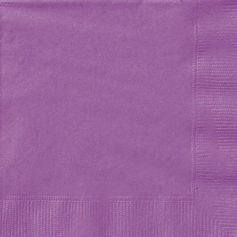 Pretty Purple Luncheon Napkins 20 CT.