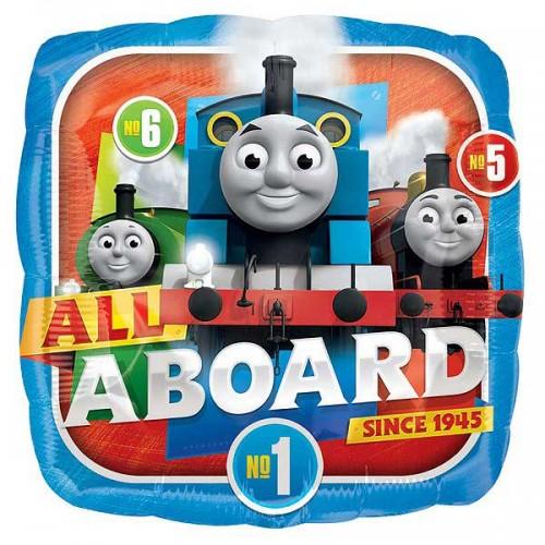 "Thomas & Friends All Aboard - 18"" Foil Balloon"