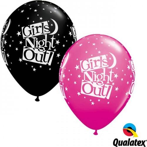"Girls Night Out Stars 11"" Wild Berry & Onyx Black (25CT)"