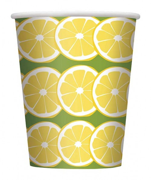 9oz. Cup - Sunny Chairs - 8ct. 12pk.