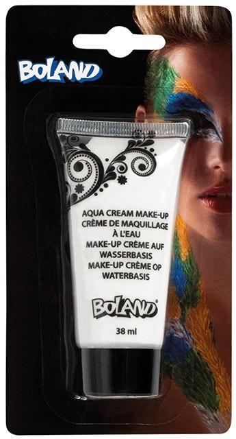 Aqua Face Paint Tube White