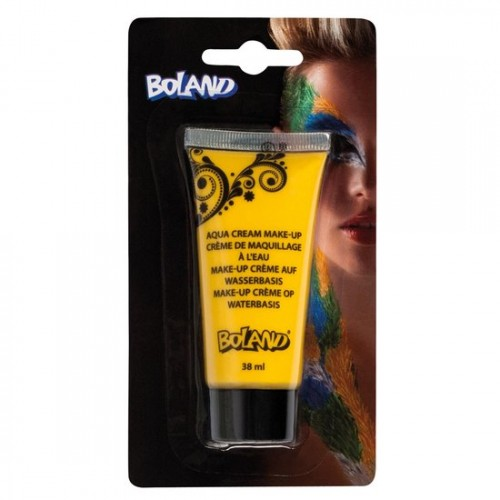 Aqua Face Paint 38 ml Tube Yellow