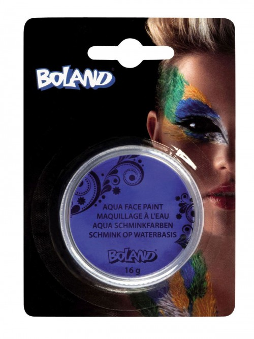 Aqua Face Paint Jar Blue