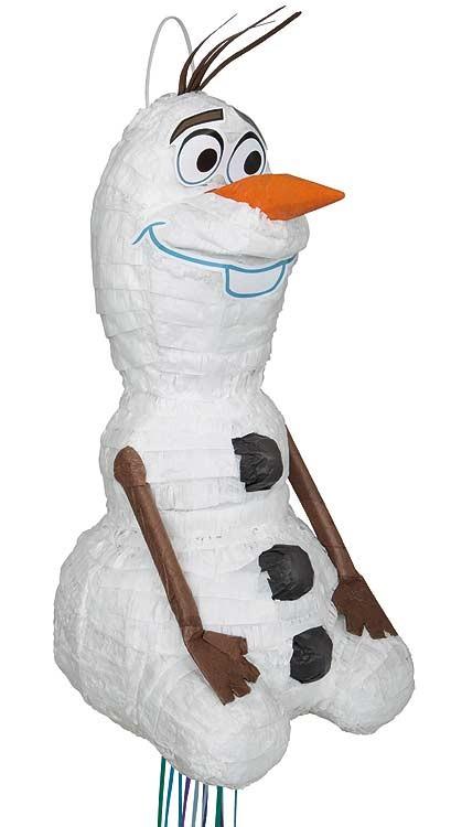 Olaf 3D Small Pull Piñata