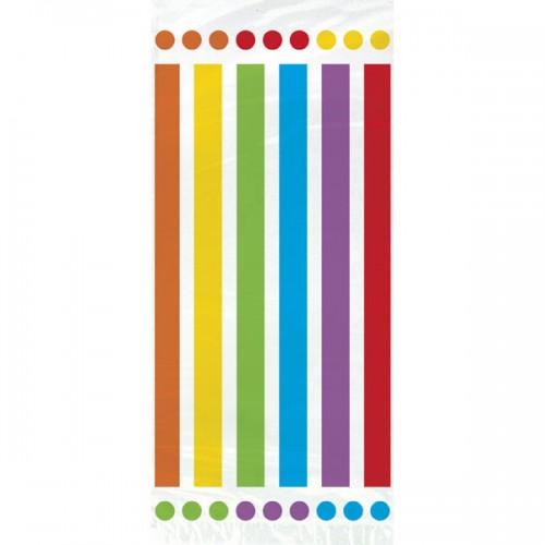Rainbow Birthday Printed Cello Bags 20CT