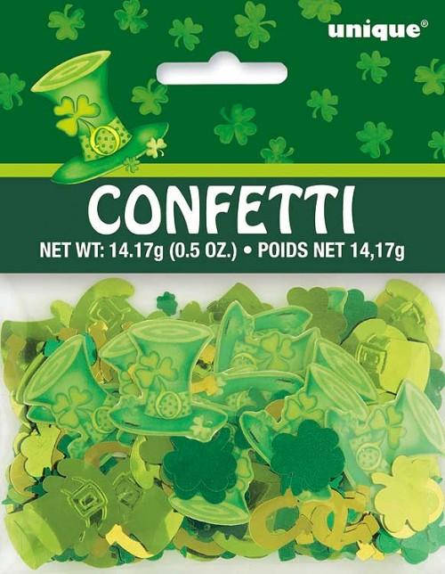 St Patricks Day Confetti