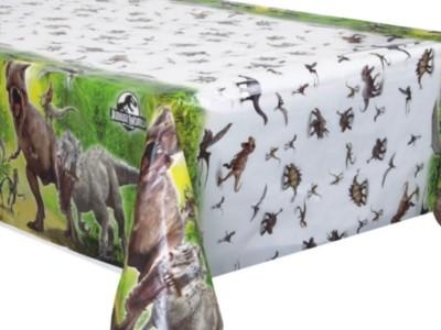 Jurassic World Plastic Tablecover 54'' x 84''