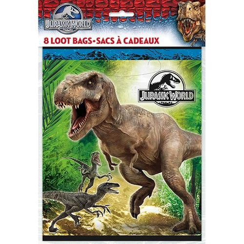 Jurassic World Loot Bags 8CT.