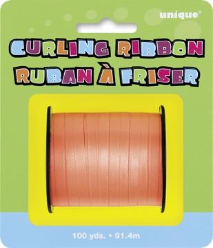 Orange Curling Ribbon - 100yds