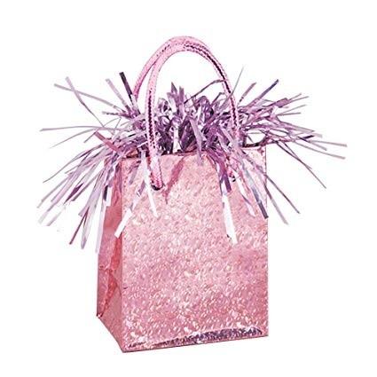Giftbag Weight - Pastel Pink Prism - (Box of 6)