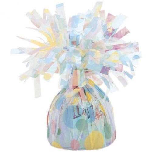 Foil Weight - Pastel Polka Dot - (Box of 6)