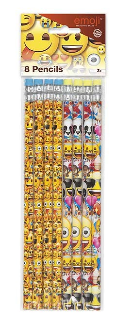 emoji Pencils - 8ct. - 12PK.
