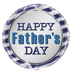 """Happy Father's Day - 18"""" Foil Balloon"""