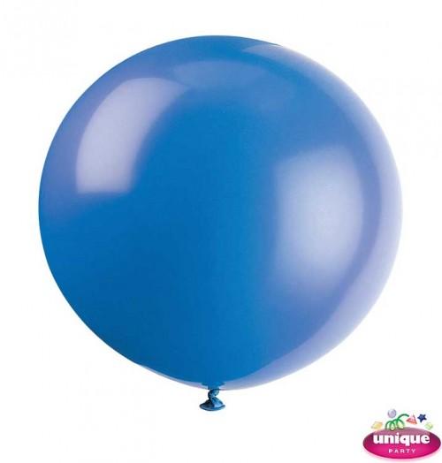 "36"" Evening Blue Premium Balloon - Bag of 6"