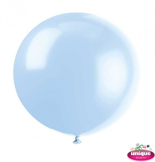 "36"" Cool Blue Premium Balloon - Bag of 6"