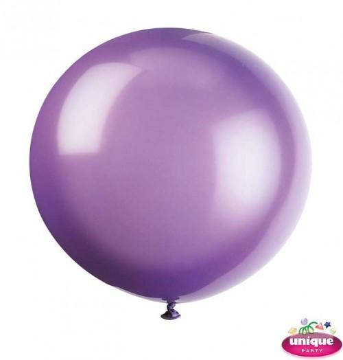 """36"""" Midnight Purple Premium Balloon - Bag of 6"""