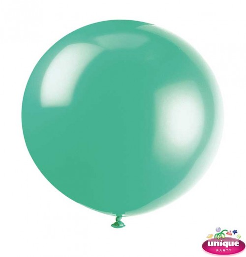 "36"" Fern Green Premium Balloon - Bag of 6"