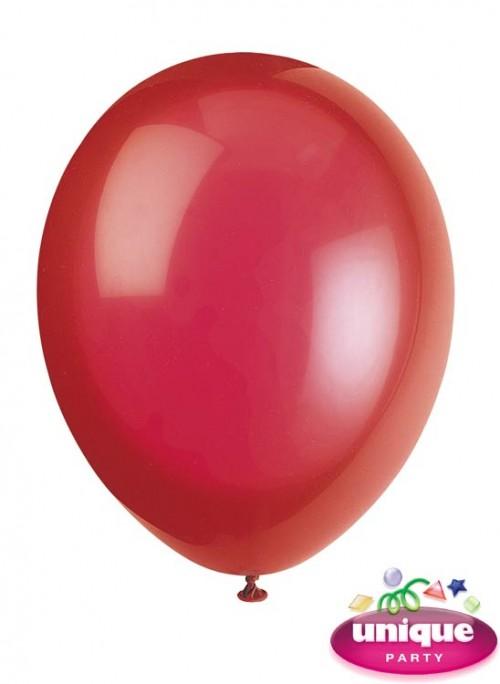 "12"" Scarlet Red Premium-Quality Crystal (Bag of 50)"