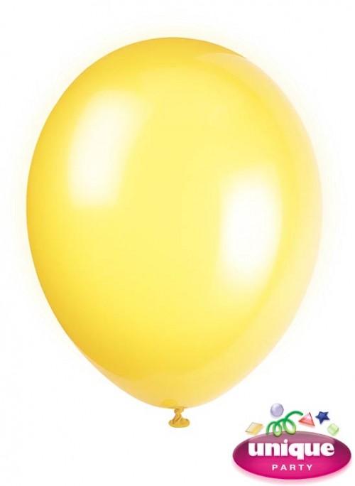 "12"" Lemon Yellow Premium-Quality (Bag of 50)"