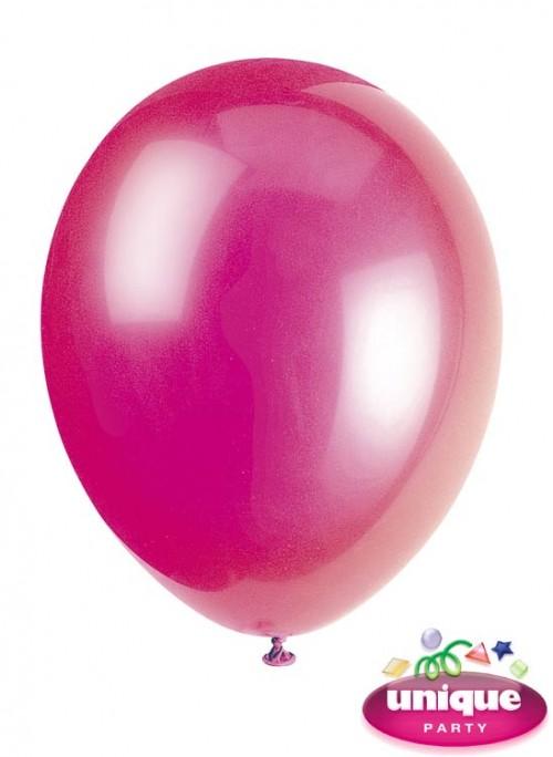 "12"" Fuchia Pink Premium-Quality Crystal (Bag of 50)"