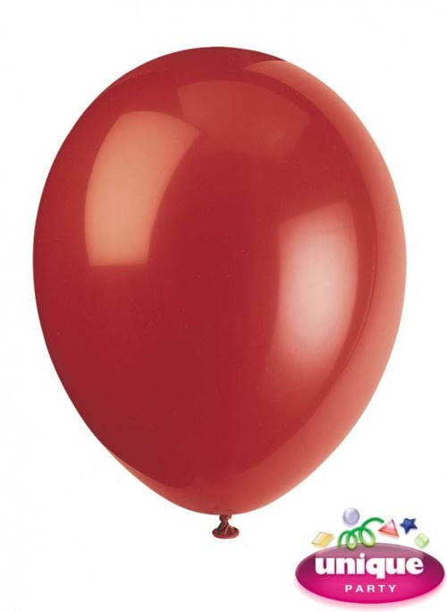 "12"" Cherry Red Premium-Quality (Bag of 50)"