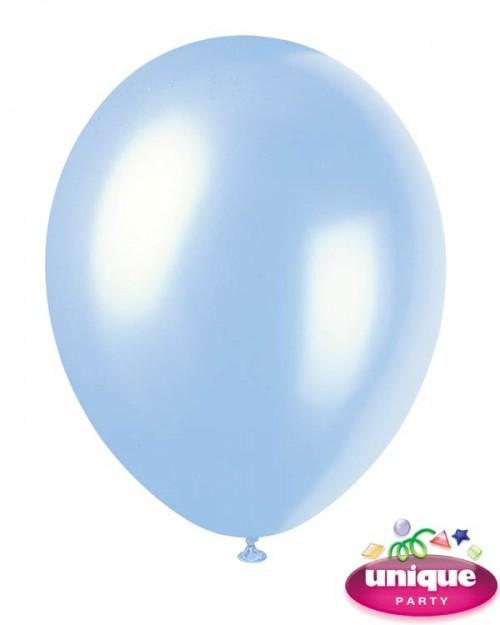 "12"" Sky Blue - Pearlized Premium (Bag of 50)"