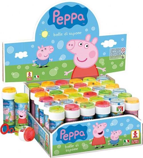 Bubble Tubs Peppa Pig 60ml - 36ct.