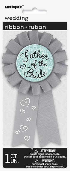 Hen Party Father of the Bride Award Ribbon