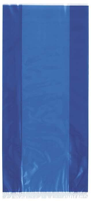 """Royal Blue Cello Bag 11""""H x 5""""W - 30ct."""
