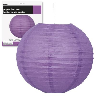 Paper Lanterns 10'' 1CT. Pretty Purple