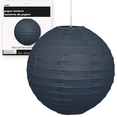 Paper Lanterns 10'' 1CT. Black