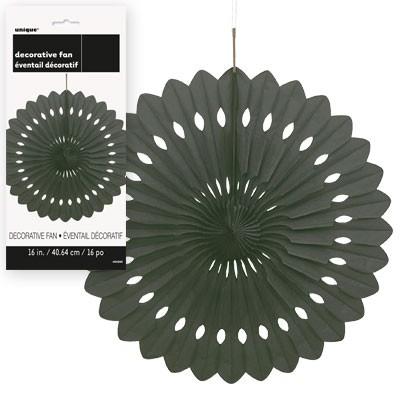 Decorative Fans 16'' 1CT. Black