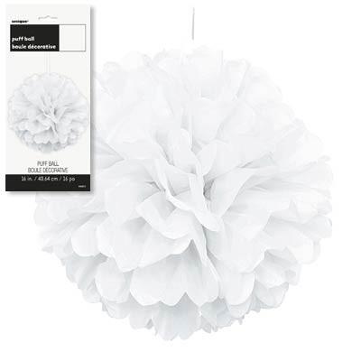 Puff Decor 16'' 1CT. White