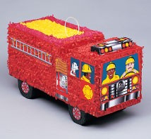 Fire Engine Piñata