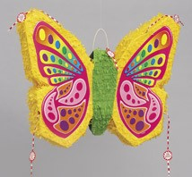 Butterfly Pop-Out Piñata