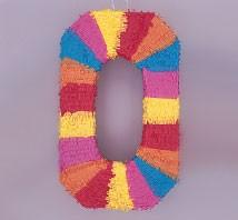 Numeral 0 Piñata