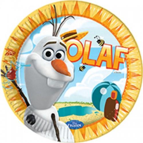Olaf 9'' Plates 8CT