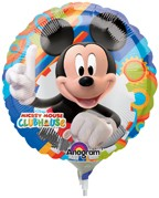 """Mickey Mouse Clubhouse - 9"""" Air Inflation Foil Balloon"""