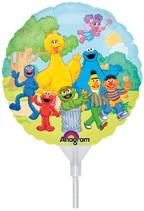 "Sesame Street 9"" Air Inflation Foil Balloon"