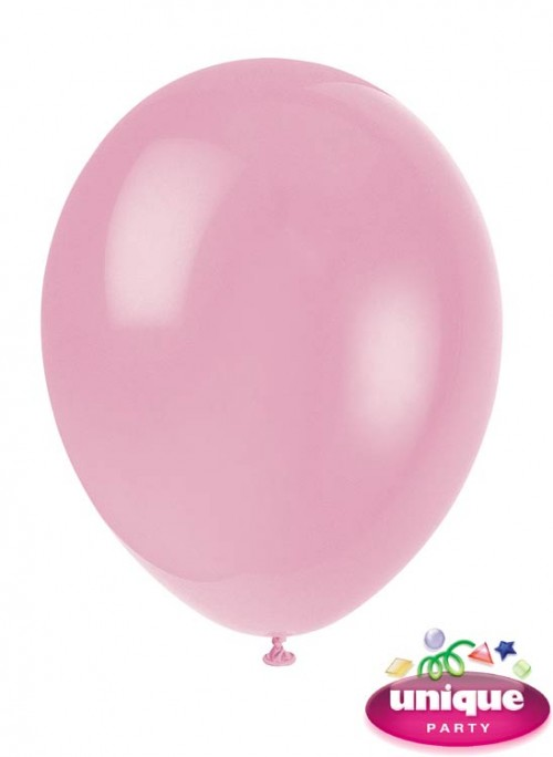 "12"" Blush Pink - Helium Quality Balloon 10 CT."