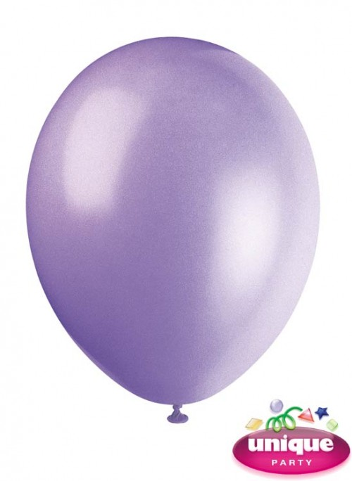 "12"" Lilac Lavender - Helium Quality Balloon 10 CT."
