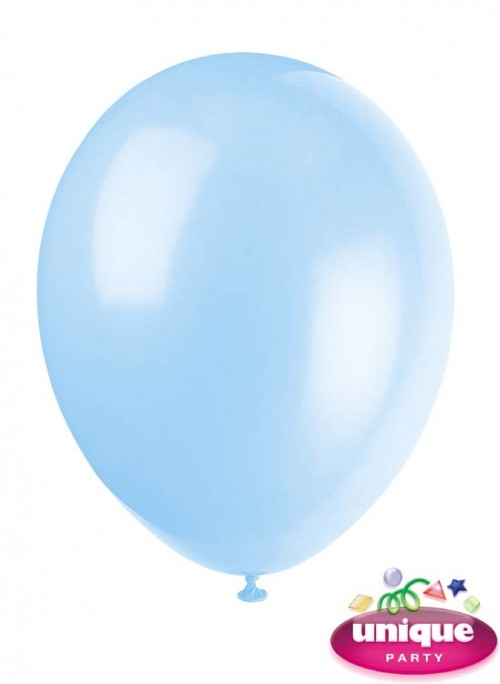 """12"""" Cool Blue - Helium Quality Balloon 10 CT."""