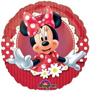"Minnie Mouse - 9"" Air Inflation Foil Balloon"