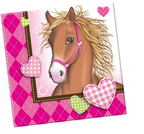 Horses Napkins 20CT.
