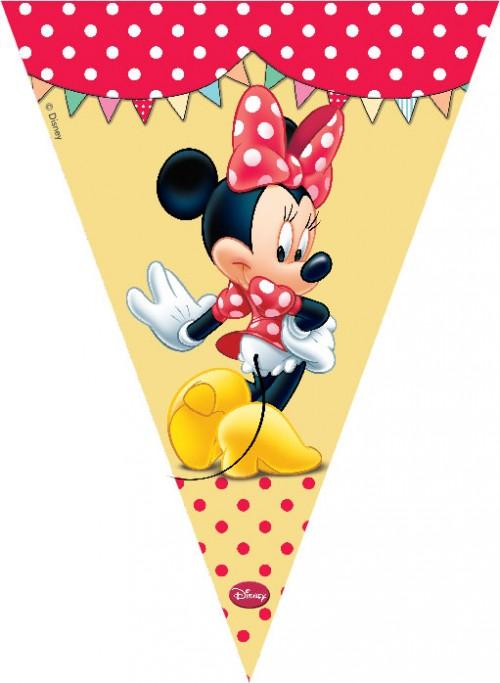 Minnie Cafe Flag Banner