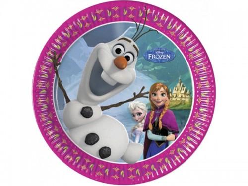 Frozen 7'' Plates 8CT.